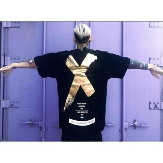 a♡ユニセックス♡ブラックゴールド(Tシャツ/カットソー(半袖/袖なし))