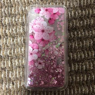 iPhone7/8 花柄 シェイカーケース