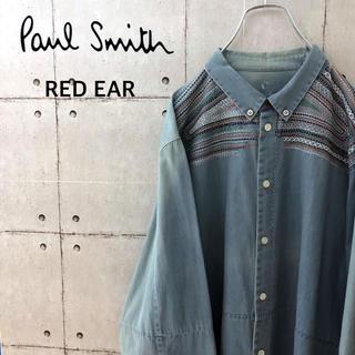 Paul Smith - 【希少】ポールスミス レッドイヤー BD デニムシャツ ハンドステッチ