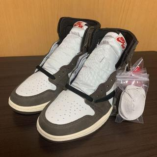 ナイキ(NIKE)のNike AIR JORDAN1RETRO×TRAVIS SCOTT(スニーカー)