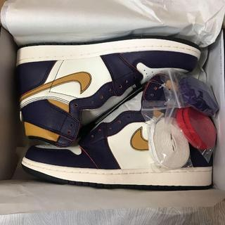 ナイキ(NIKE)のNIKE SB AIR JORDAN 1 DEFIANT LAKERS 新品(スニーカー)