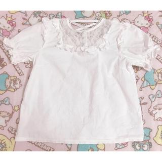 リズリサ(LIZ LISA)の♡リズリサ ブラウス♡(シャツ/ブラウス(半袖/袖なし))