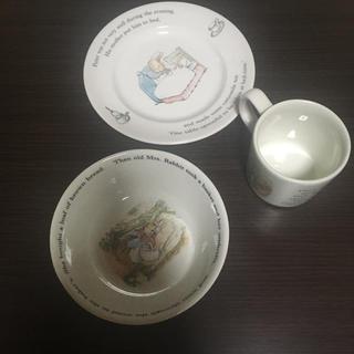 WEDGWOOD - ウェッジウッド ピーターラビット食器3点セット 未使用品