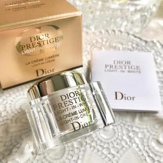 Dior - 【お試し✦4,104円分】ディオール プレステージホワイト ラクレームルミエール