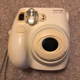 フジフイルム(富士フイルム)のチェキ intax mini7s ジャンク品(フィルムカメラ)