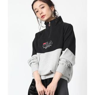 FILA - FILA×FREAK'S STORE♡美品♡別注 ハーフジップスウェット