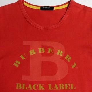 バーバリーブラックレーベル(BURBERRY BLACK LABEL)の☆美品☆ バーバリーブラックレーベル            ☆デザインTシャツ☆(Tシャツ/カットソー(半袖/袖なし))