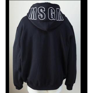 MSGM -  伊製 MSGM エムエスジーエム オーバーサイズ ジップ スウェットパーカー