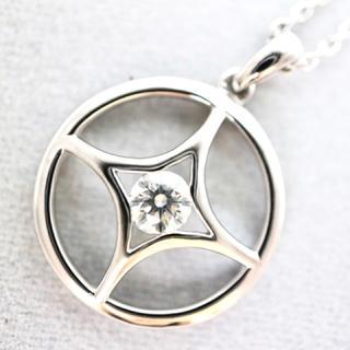 デビアス(DE BEERS)の【デビアス】750(WG) ダイヤ ネックレス(ネックレス)