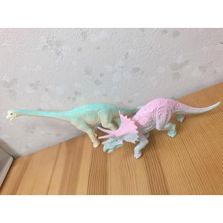 恐竜 フィギュア 人形 おもちゃ ゆめかわいい