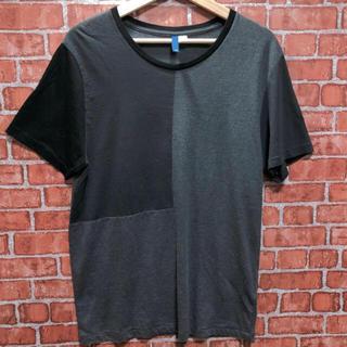 エイチアンドエム(H&M)のH&M パッチワーク風 Tシャツ(Tシャツ/カットソー(半袖/袖なし))