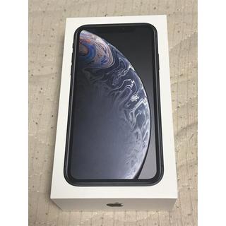 iPhone XR 64GB ブラック 本体