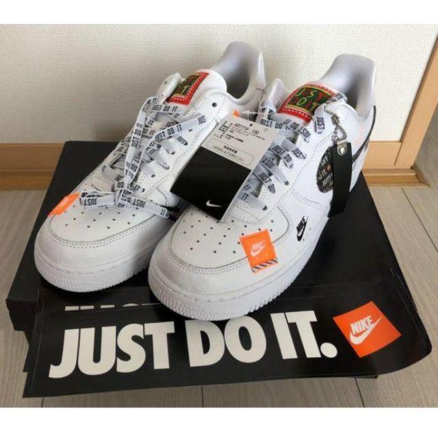 NIKE(ナイキ)の【27㎝】ナイキ エアフォース1 '07 プレミアム just do it メンズの靴/シューズ(スニーカー)の商品写真