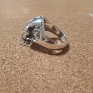 リング・指輪・スカル・ドクロ・スカルリング・ドクロリング・スカル925・純銀★(リング(指輪))