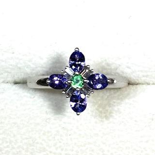 のんのん様専用 K18WG マルチカラー 指輪(リング(指輪))