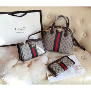 Gucci -   Gucci  トートバッグ 3点セット