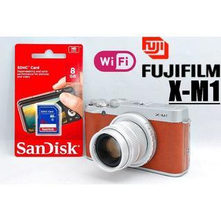 フジフイルム(富士フイルム)のWi-Fi搭載でスマホへ転送OK♪ フィルムメーカー自信の1台♪(ミラーレス一眼)