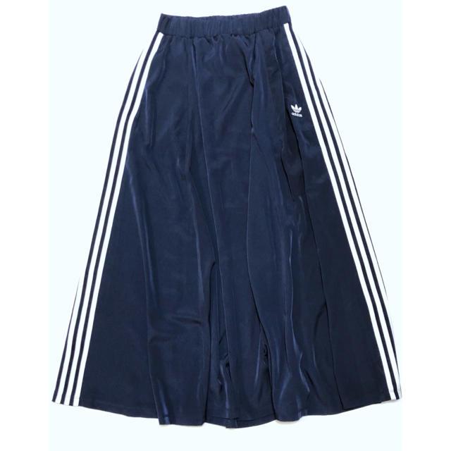 adidas(アディダス)の美品 アディダス オリジナルス × ユナイテッドアローズ ロング丈スカート M レディースのスカート(ロングスカート)の商品写真