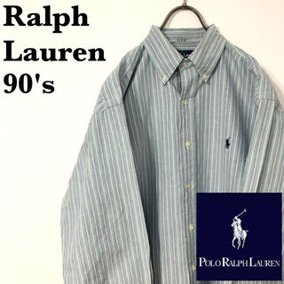 ラルフローレン(Ralph Lauren)の古着 90's Ralph Lauren ラルフローレン コットンシャツ(シャツ)