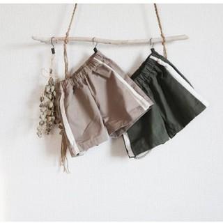 サイドライン*ショートパンツ 韓国子供服