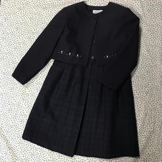 ミキハウス(mikihouse)の【美品】ミキハウス フォーマル 120サイズ 2点 受験 面接 日本製 1回着(ドレス/フォーマル)
