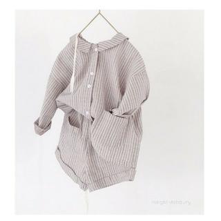 デザインシャツ*セットアップ 韓国子供服