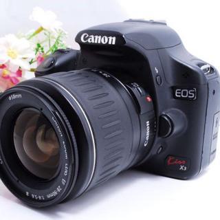 【初心者オススメ!】Canon kiss x3 大人気