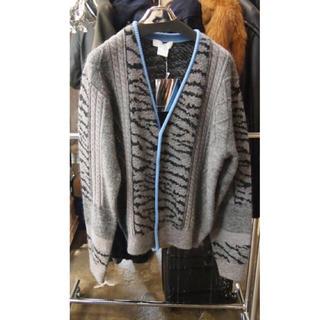 TOGA - TOGA VIRILIS Jacquard knit cardigan