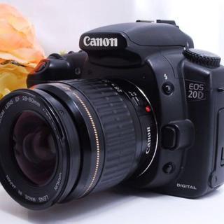 【不動のベストセラー!】大人気 Canon EOS 20D レンズキット