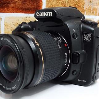 【定番カメラ!】キャノン Canon 20D 初心者~プロまで♪