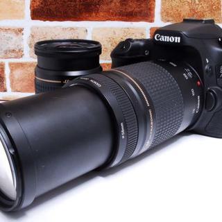 【色々な場面で大活躍!】Canon eos 70D ダブルレンズセット