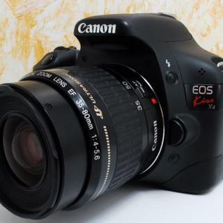 初心者最適!Canon EOS KISS X4 レンズキット