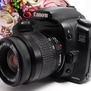 【人気カメラ!】CANON キャノン EOS 20D レンズキット