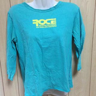 レディーストップス 七分袖 ターコイズカラー さわやか Tシャツ
