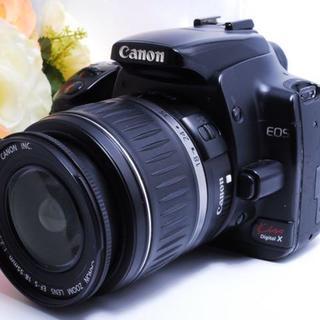 【低価格で本格的な一眼レフ!】Canon kiss X レンズ セット