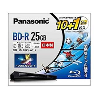 【今日★限定】パナソニック 4倍速ブルーレイディスク25GB10枚+50GB1枚