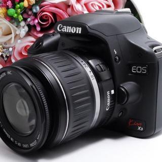 【動画も撮れる!】キャノン EOS kissX3 レンズ セット 高画質