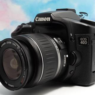 【Canonの名機 !】Canon EOS 40D レンズキット 手ぶれ補正
