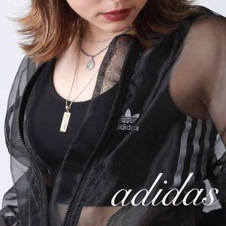 adidas - クロップドタンク タンクトップ ベアトップ アディダス