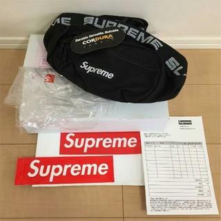 Supreme - Supreme waist bag 18ss 新品 black ウエストバッグ
