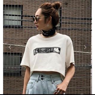 アメリヴィンテージ(Ameri VINTAGE)のameri ビートルズT ホワイト(Tシャツ(半袖/袖なし))
