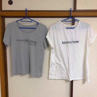 しまむら - しまむら ロゴTシャツ