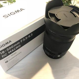 SIGMA - 18-300mm SIGMA シグマ EFマウント キャノン