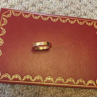 カルティエ(Cartier)のカルティエ ラニエール リング ピンクサファイヤ(リング(指輪))