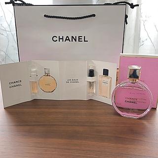 シャネル(CHANEL)の美品CHANELチャンス オー タンドゥル オードゥパルファム&サンプル(香水(女性用))