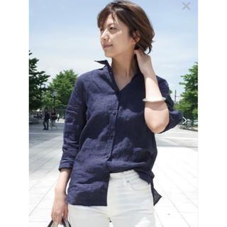 DEUXIEME CLASSE - 新品未使用 LINEN ウォッシュシャツ ドゥーズィエムクラス