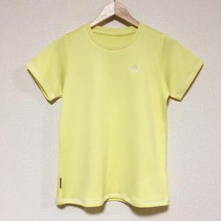 アディダス(adidas)のアディダス✳︎レモンイエローウェア(Tシャツ(半袖/袖なし))