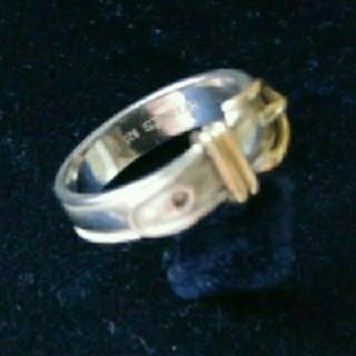 エルメス(Hermes)のHERMESヴィンテーシサンチュールAu750&925クリーニング済み(リング(指輪))