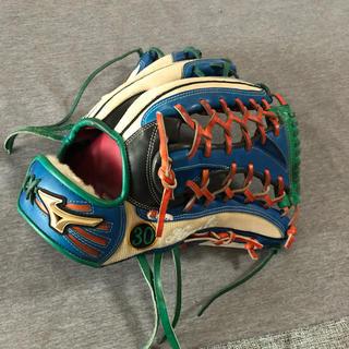 MIZUNO - ミズノ軟式グローバルエリートオーダー外野手グローブ型最高