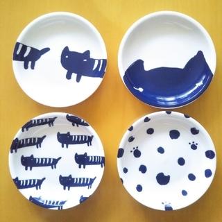ツモリチサト(TSUMORI CHISATO)のツモリチサト 小皿 4枚セット(食器)